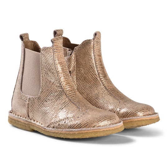 Bisgaard Boot Gold Gold