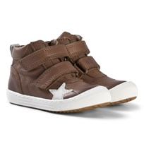 Bisgaard Velcro shoes Taupe Taupe
