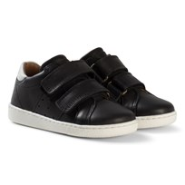 Bisgaard Velcro shoes Black Black