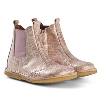Bisgaard Leather Boots Rose Multi