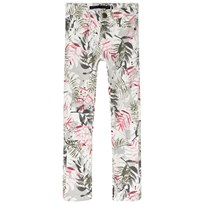 IKKS Grey Floral Print Slim Fit Jeans 91