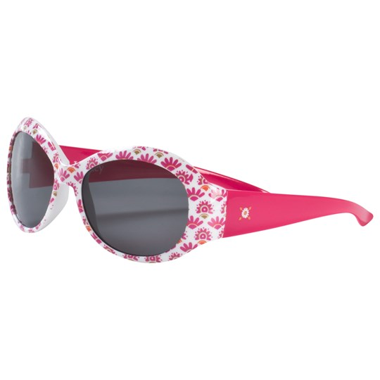 Hatley Pink and Gold Sarchi Sunglasses Pink