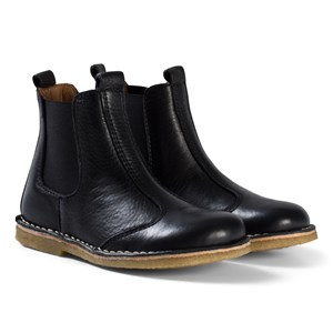 Image of Bisgaard Leather Boots Black 32 EU (2946006959)