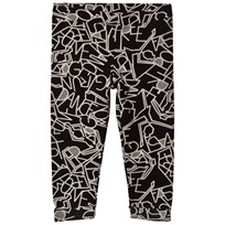 United Colors of Benetton Foil Print Leggings Black Black
