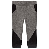 United Colors of Benetton Soft Rib Jersey Trouser With Contrast Colour Details Mid Grey Mid Grey