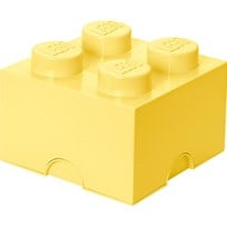 LEGO Inredning LEGO, Förvaring 4, Design Collection, Cool Yellow Yellow