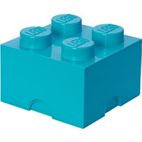 LEGO Inredning LEGO, Förvaring 4, Design Collection, Azur Blue