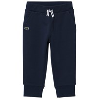 Lacoste Navy Small Logo Sweatpants Navy Blue