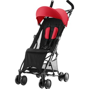 Image of Britax Holiday Stroller Flame Red (3056059023)