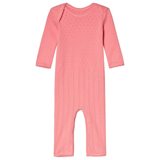 Noa Noa Miniature Long Sleeve One-Piece in Strawberry Pink STRAWBERRY PINK