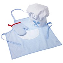 oskar&ellen Chef Set Blue