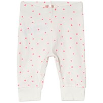 Billieblush White and Pink Spot Leggings Z40