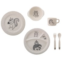 Bloomingville Alex serving set White