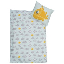 Bloomingville Jonah Baby Linen, Duvet/Pillow , Grey, Cotton Musta