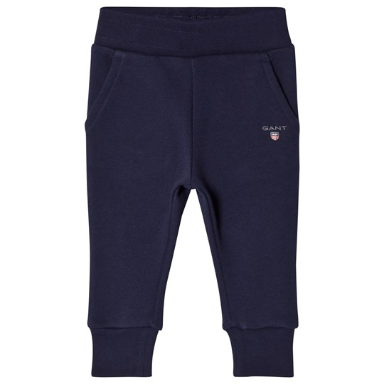 GANT Navy Branded Sweatpants 433
