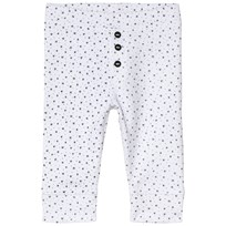 Absorba White Star Print Soft Jersey Trousers 01