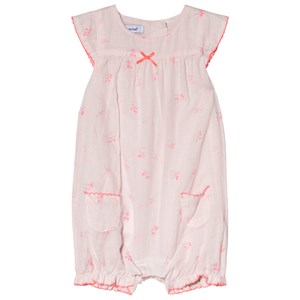 Image of Absorba Pink Floral Bubble with Bow Detail 6 months (2946988195)