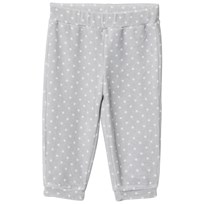 United Colors of Benetton Polkadot Velour Pants Blue Grey