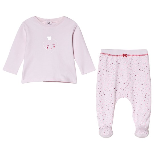 Absorba Pink Heart Print Tee and Bottoms Set 30