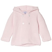 Absorba Pink Knit Cardigan with Tassle Hood 30