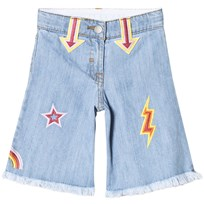 Stella McCartney Kids Blue Arrow Denim Culottes 4160