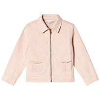 Stella McCartney Kids Pink Denim Angie Jacket with Ice Cream Back 5768