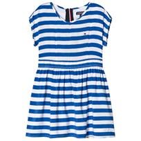 Tommy Hilfiger Delightful Blue Stripe Dress 493
