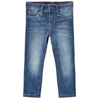 Tommy Hilfiger Blue Mid Denim Scanton Slim Fit Jeans 911