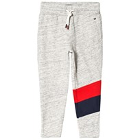 Tommy Hilfiger White, Red and Navy Racing Stripe Sweatpants 060