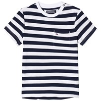 Tommy Hilfiger Navy Stripe Bright Pique Tee 002