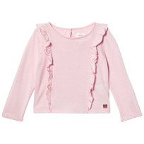Carrément Beau Pale Pink Frill Front Top 45S