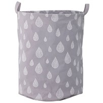 Bloomingville Storage Bag, Grey, Cotton Black