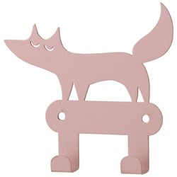 Bloomingville Pink Fox Metal Hook
