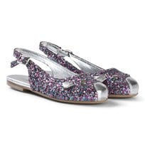 Little Marc Jacobs Glittered Mouse Ballerina Shoes Z40
