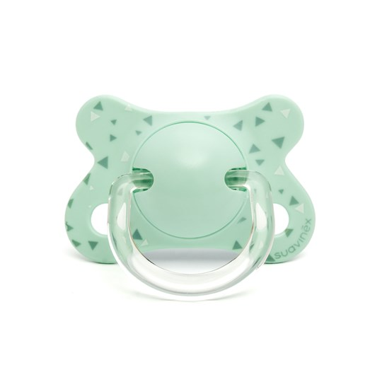 Suavinex Fusion Anatomical Silicone Pacifier 2-4m Blue Bue Swallow