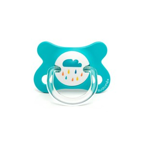 Image of Suavinex Fusion Physiological Silicone Pacifier 2-4m Blue (2946986667)