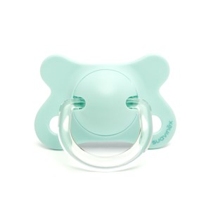 Image of Suavinex Fusion Physiological Silicone Pacifier 2-4m Blue (2946986671)