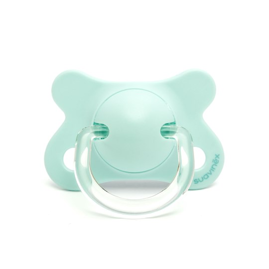 Suavinex Fusion Physiological Silicone Pacifier 2-4m Blue Blue Indian