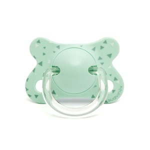 Image of Suavinex Fusion Physiological Silicone Pacifier 2-4m Blue (2946986675)