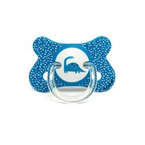 Suavinex Fusion Anatomical Latex Pacifier 4-18m Blue Dino Blue Dino