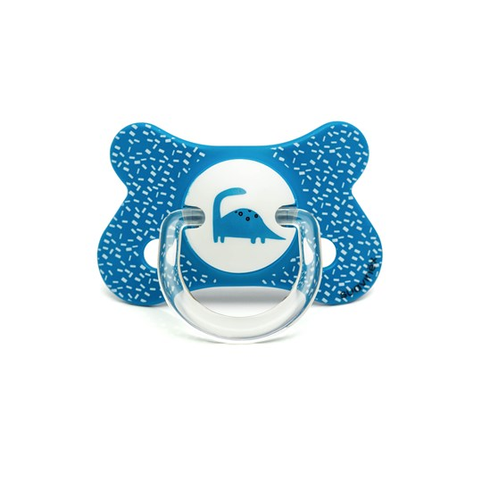 Suavinex Fusion Physiological Latex Pacifier 4-18m Blue Dino Blue Dino