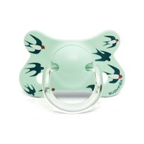 Suavinex Fusion Physiological Latex Pacifier 4-18m Blue Swallow Bue Swallow