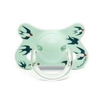 Suavinex Fusion Anatomical Latex Pacifier 4-18m Blue Swallow Bue Swallow