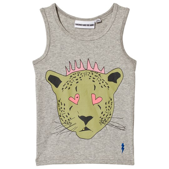 Gardner and the gang The Tank Top Kate Heather Grey Серый