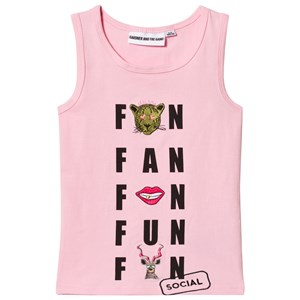Image of Gardner and the gang The Tank Top Social Fanclub Light Pink 9-12 mdr (1063129)