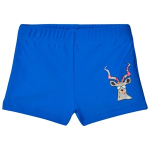 Image of Gardner and the gang Swim Shorts Fred Antelope Navy Blue 9-12 mdr (2947788941)