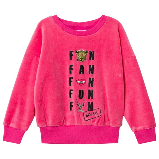 Gardner and the gang The Classic Velour Sweatshirt Social Fan Club Candy Pink Candy Pink
