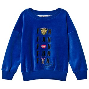 Image of Gardner and the gang The Classic Velour Sweatshirt Social Fan Club Navy Blue 9-12 mdr (2947790129)