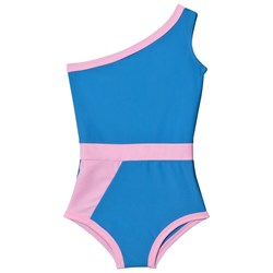 Gardner and the gang Graphic Swimsuit Light Blue