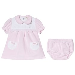 Mintini Baby Pink Dress and Bloomers